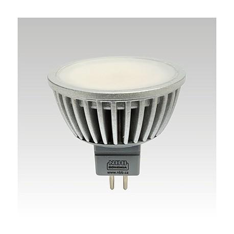 LED žárovka LQ1 LED MR16 3,5W 12V GU5,3 3000K AL 308lm teplá bílá NBB