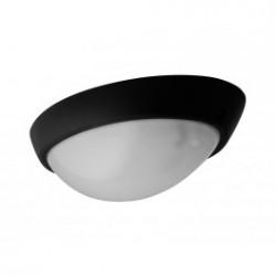 Panlux ELIPTIC venkovní přisazené stropní a nástěnné svítidlo, černá