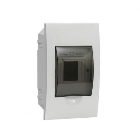 Plastový rozvaděč Kanlux DB104F 1x4P/FMD (03840)