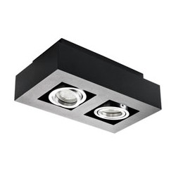 Přisazené svítidlo Kanlux STOBI DLP 250-B černá (26832)