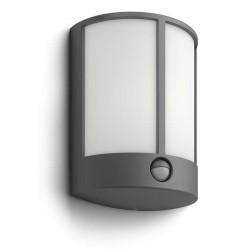 PHILIPS venkovní LED svítidlo Stock se senzorem antracit (16465/93/16)