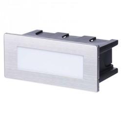 EMOS LED orientační vestavné svítidlo 123×53, 1,5W teplá bílá IP65
