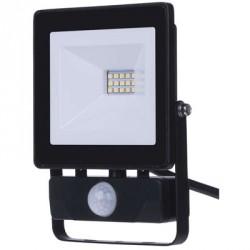 EMOS LED reflektor HOBBY SLIM s PIR, 10W neutrální bílá