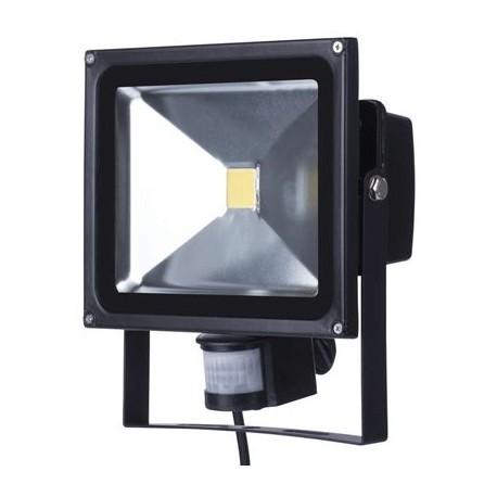 EMOS LED reflektor HOBBY s PIR, 30W neutrální bílá