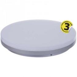 EMOS LED přisazené svítidlo, kruh stříbrná 29W studená bílá stm.