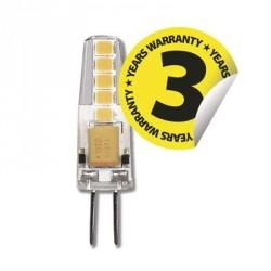 EMOS LED žárovka Classic JC A++ 2W G4 teplá bílá