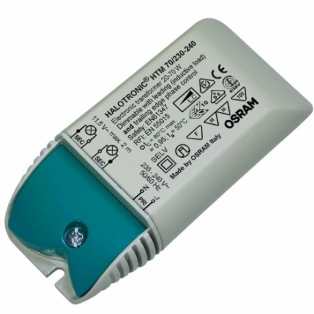 OSRAM 70/230-240 Mouse HALOTRONIC HTM 12V trafo elektronické