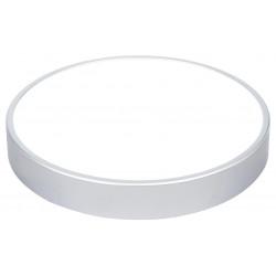 Přisazené svítidlo Greenlux LED TAURUS-R Silver 24W NW (GXPS035)