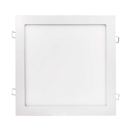 EMOS LED panel 300×300, čtvercový vestavný bílý, 24W neutrální bílá
