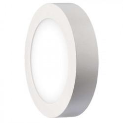 EMOS LED panel 170mm, kruhový přisazený bílý, 12W neutrální bílá