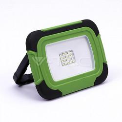 LED reflektor nabíjecí V-TAC 10W-Plastic rechargeable floodlight -IP44-6400K LED by SAMSUNG , VT-11-R