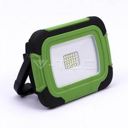 LED reflektor nabíjecí 20W-Plastic rechargeable floodlight -IP44-6400K LED by SAMSUNG , VT-20-R