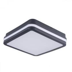 Přisazené svítidlo LED Kanlux BENO 18W NW-L-SE GR senzor, IP54 (32947)