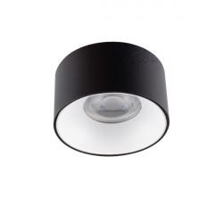 Vestavné bodové svítidlo Kanlux MINI RITI GU10 B/W (27577)