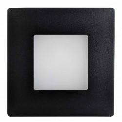 Greenlux nástěnné LEd svítidlo DECENTLY IP44 Black 2.5W NW (GXLL053)