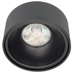 Podhledové vestavné svítidlo Greenlux  ANGUS-R Black (GXPO021)