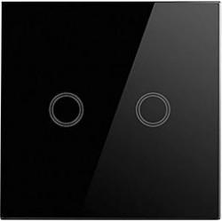 Smart dvoukanálový spínač Greenlux WiFi 2SWITCH Black (GXSH043)